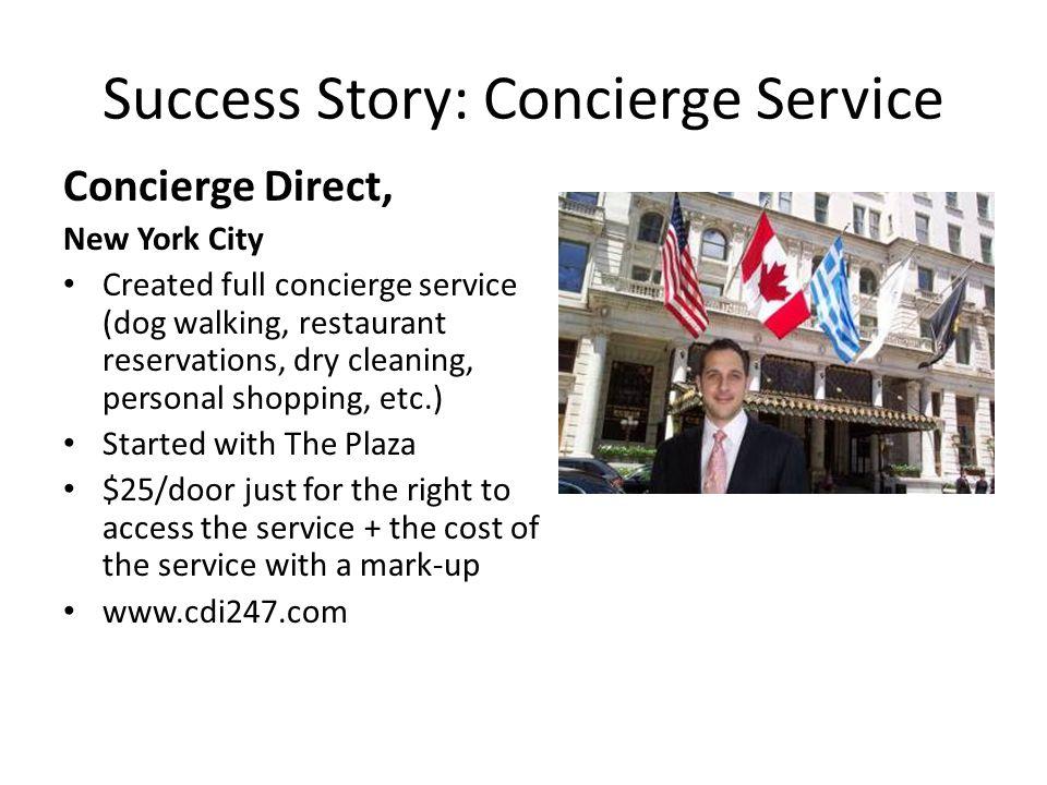 Success Story: Concierge Service
