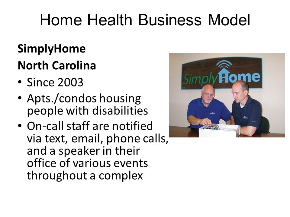 Home Health Business Model