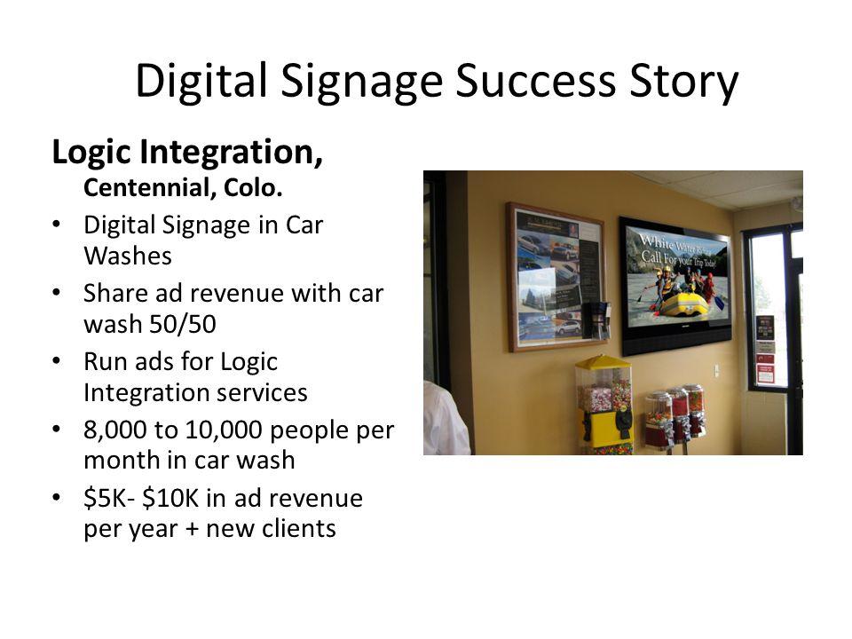 Digital Signage Success Story