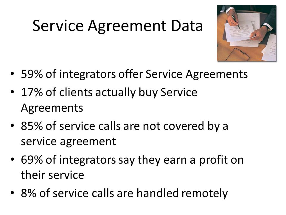 Service Agreement Data