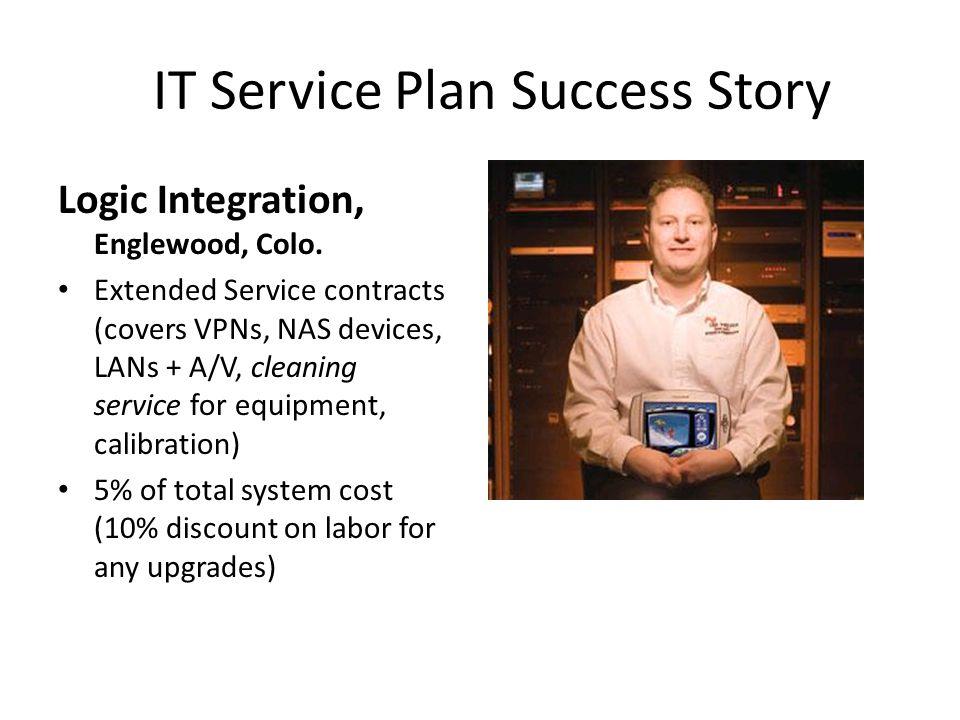 IT Service Plan Success Story