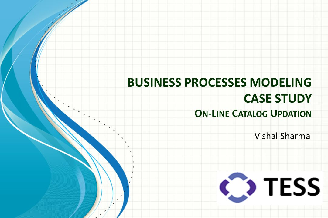 BUSINESS PROCESSES MODELING CASE STUDY On-Line Catalog Updation