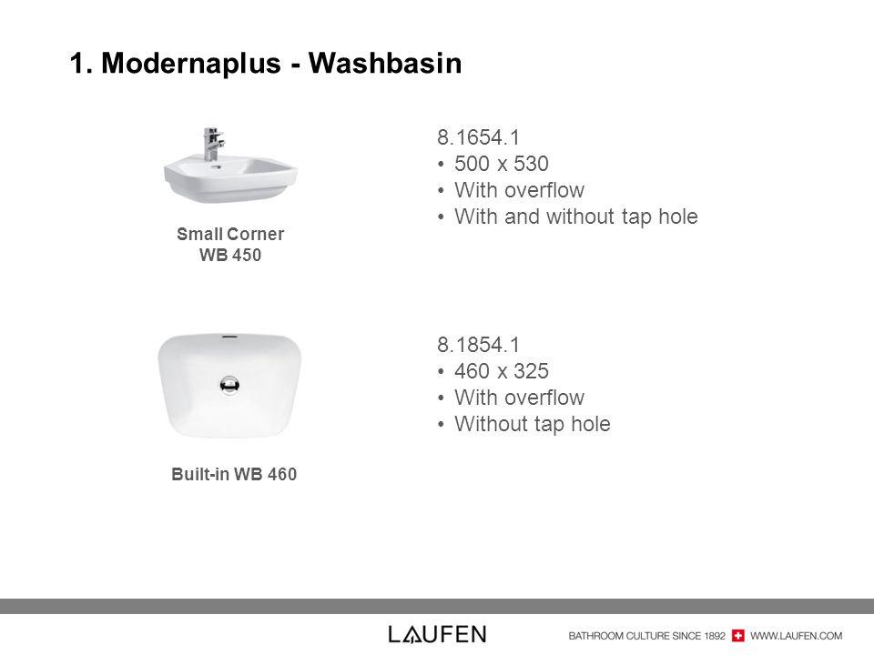 1. Modernaplus - Washbasin