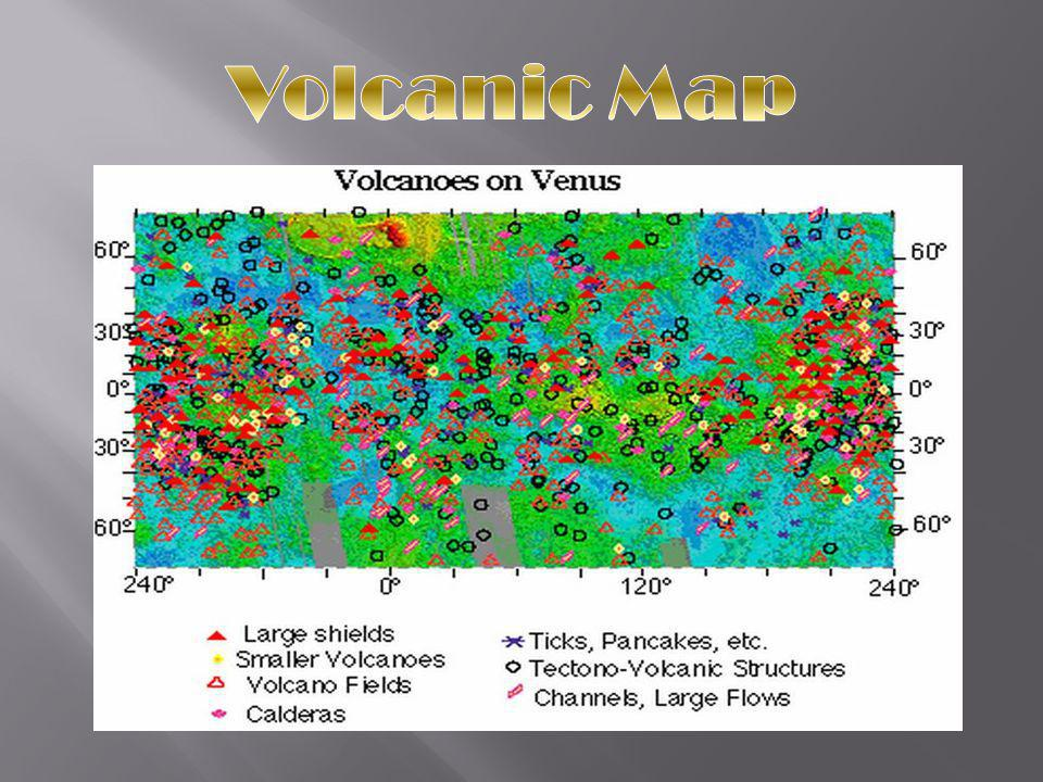 Volcanic Map