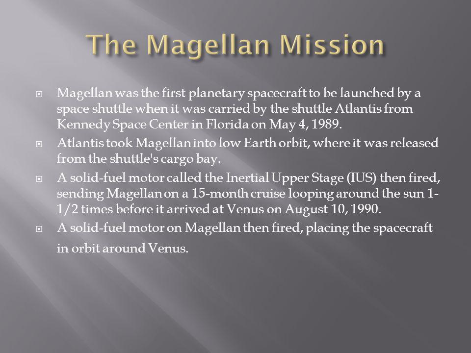 The Magellan Mission
