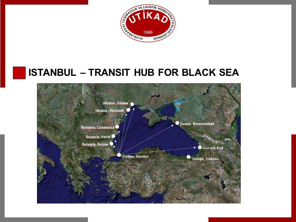 ISTANBUL – TRANSIT HUB FOR BLACK SEA