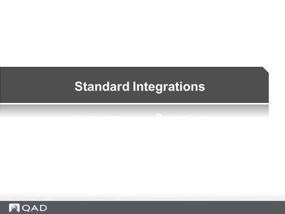 Standard Integrations