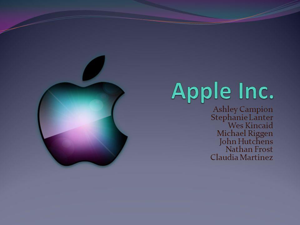 Apple Inc. Ashley Campion Stephanie Lanter Wes Kincaid Michael Riggen