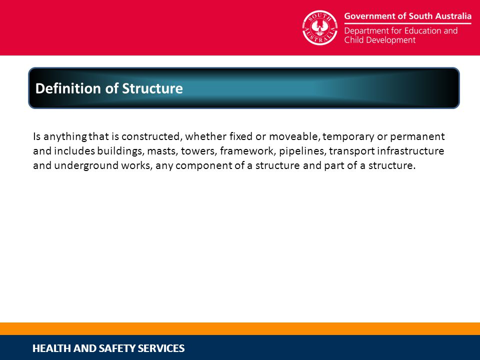 Definition of Structure