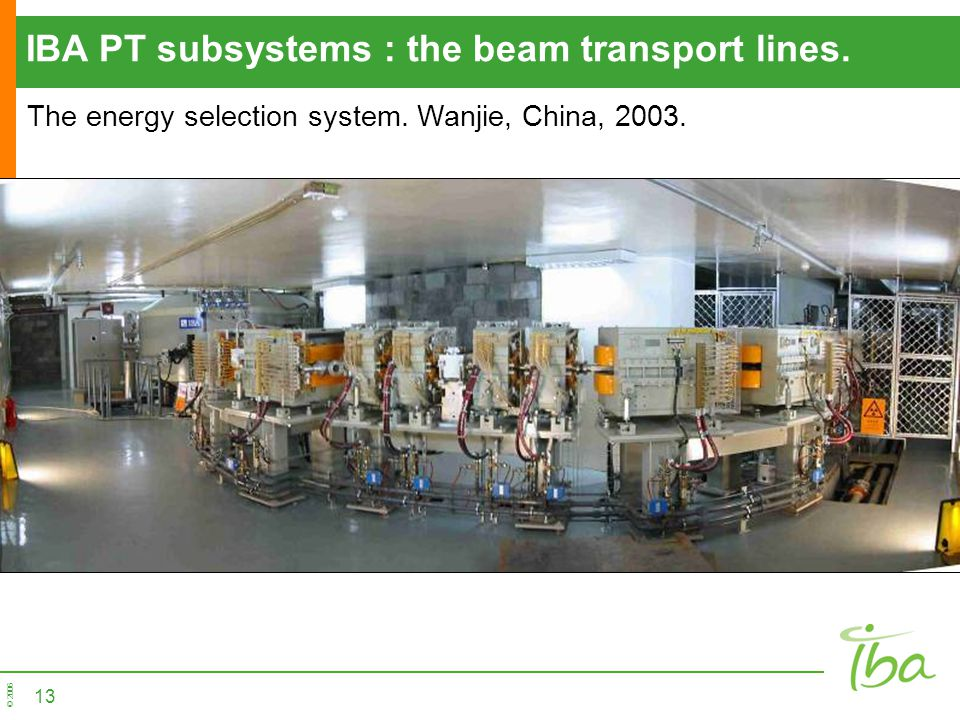IBA PT subsystems : the beam transport lines.