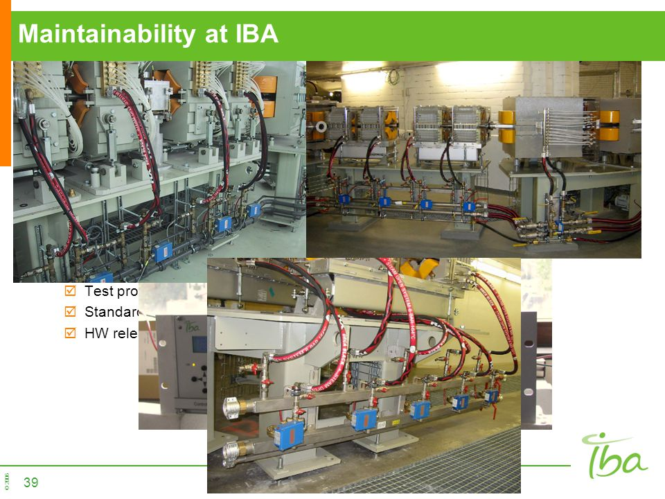 Maintainability at IBA