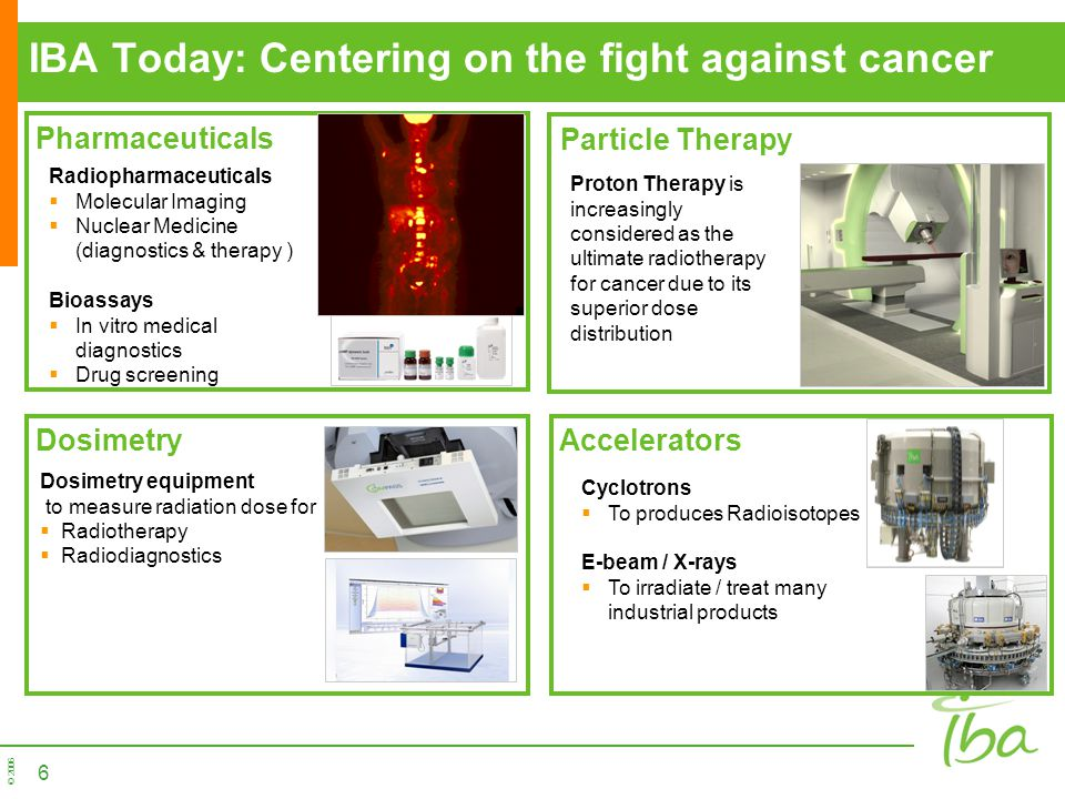 IBA Today: Centering on the fight against cancer