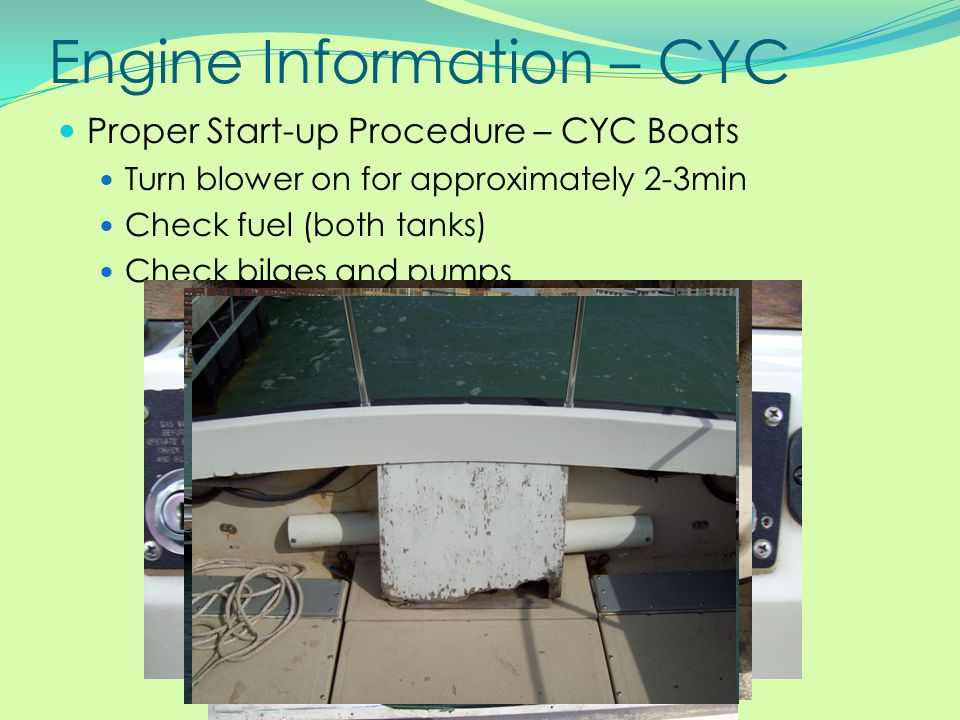 Engine Information – CYC