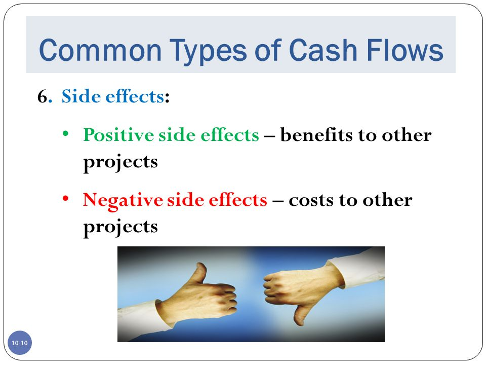 Common Types of Cash Flows