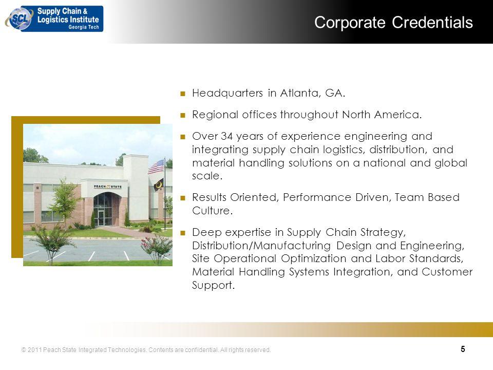 Corporate Credentials