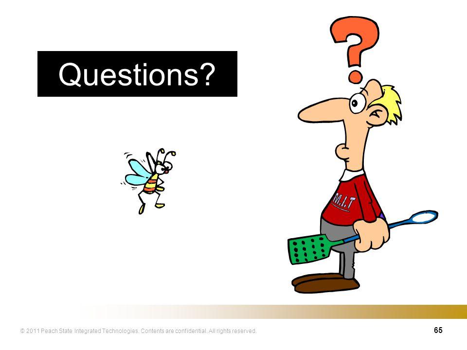 Questions M.I.T 65