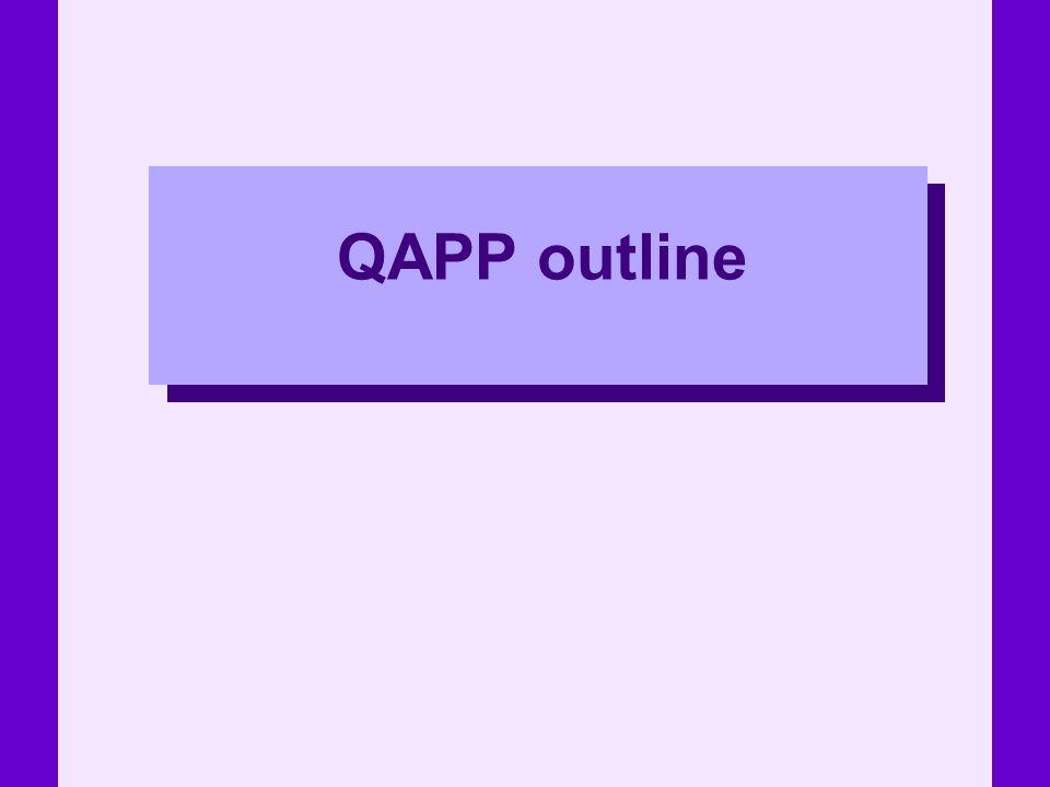 QAPP outline