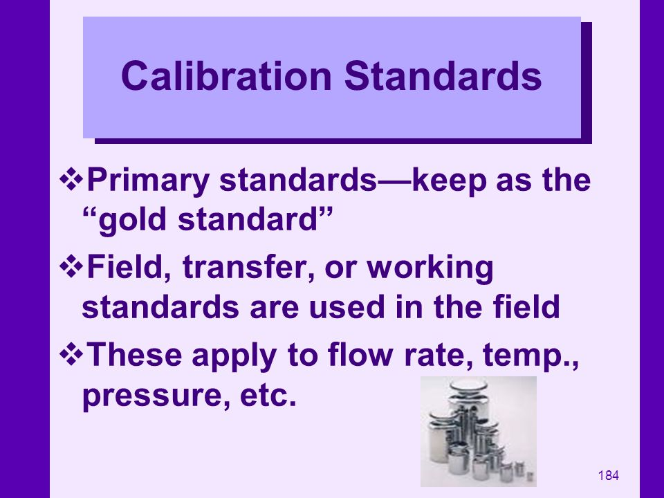Calibration Standards