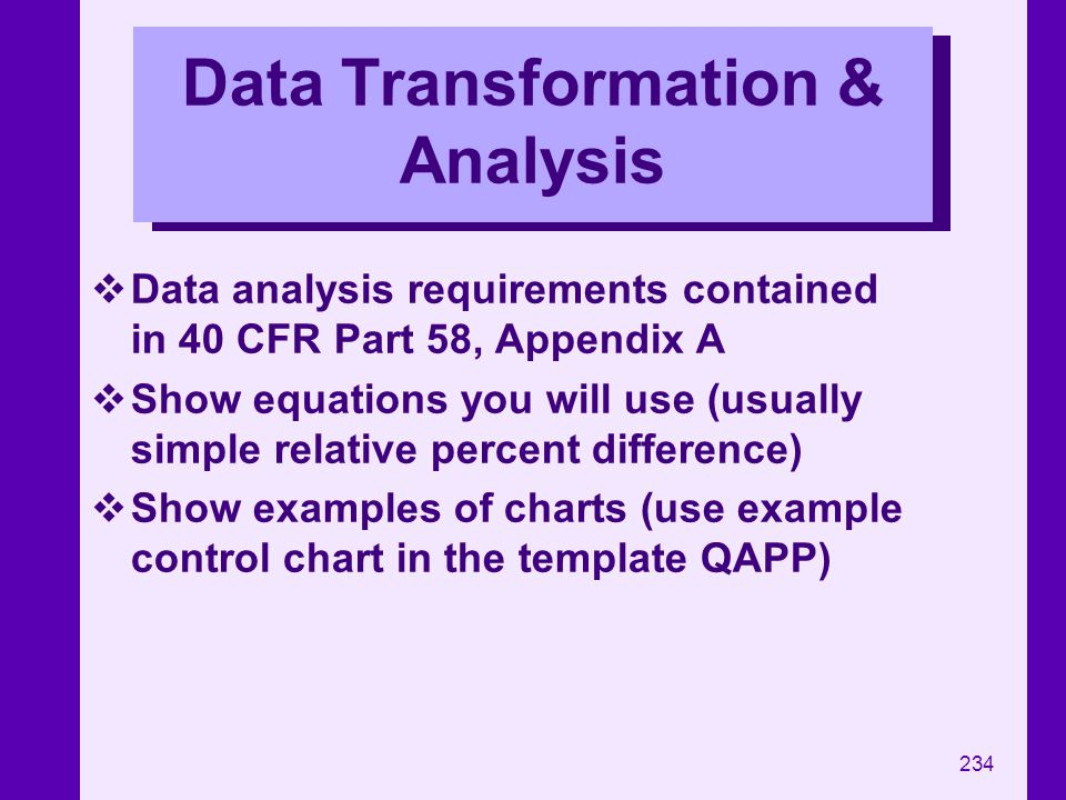 Data Transformation & Analysis