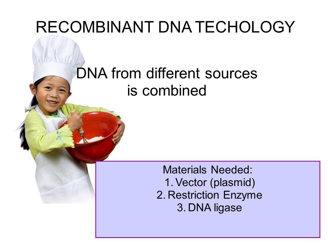 RECOMBINANT DNA TECHOLOGY