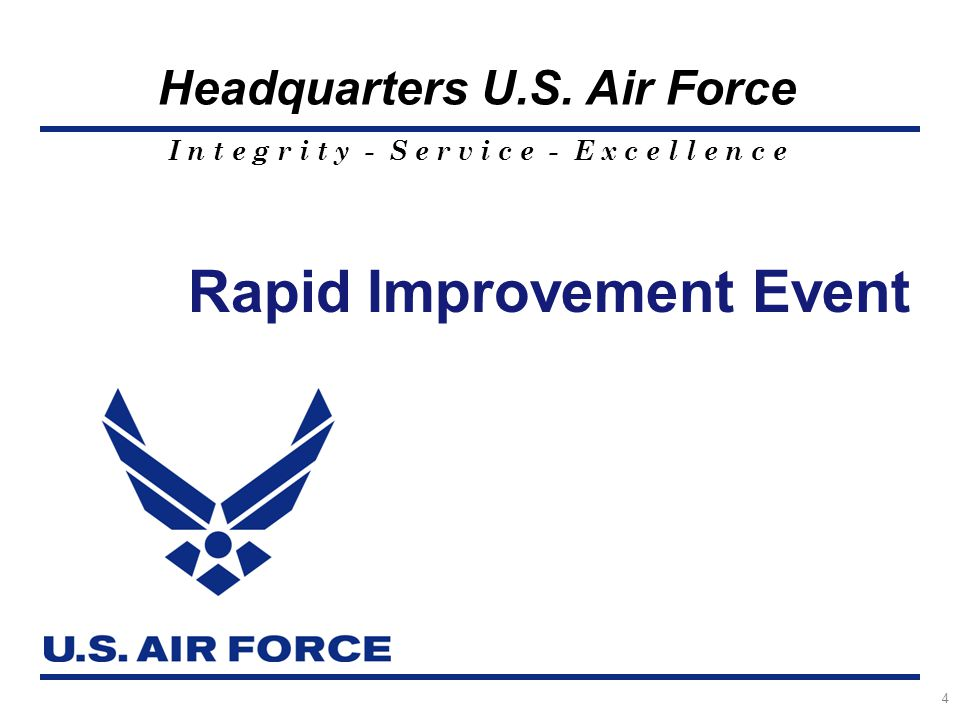 Rapid Improvement Event