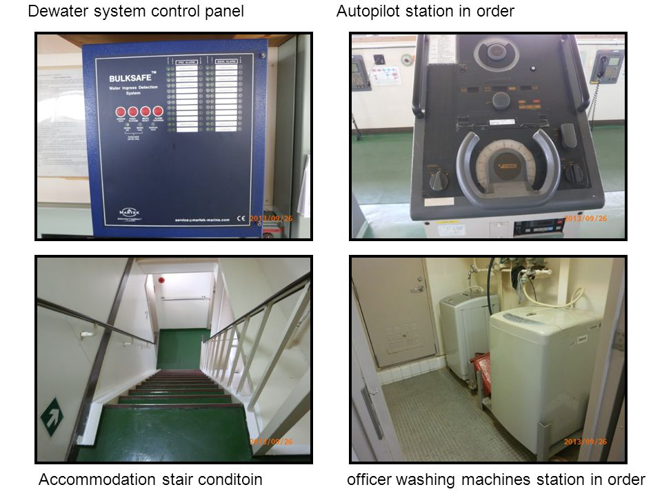 Dewater system control panel Autopilot station in order