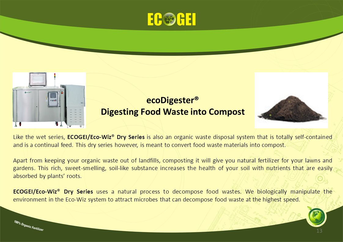 Digesting Food Waste into Compost