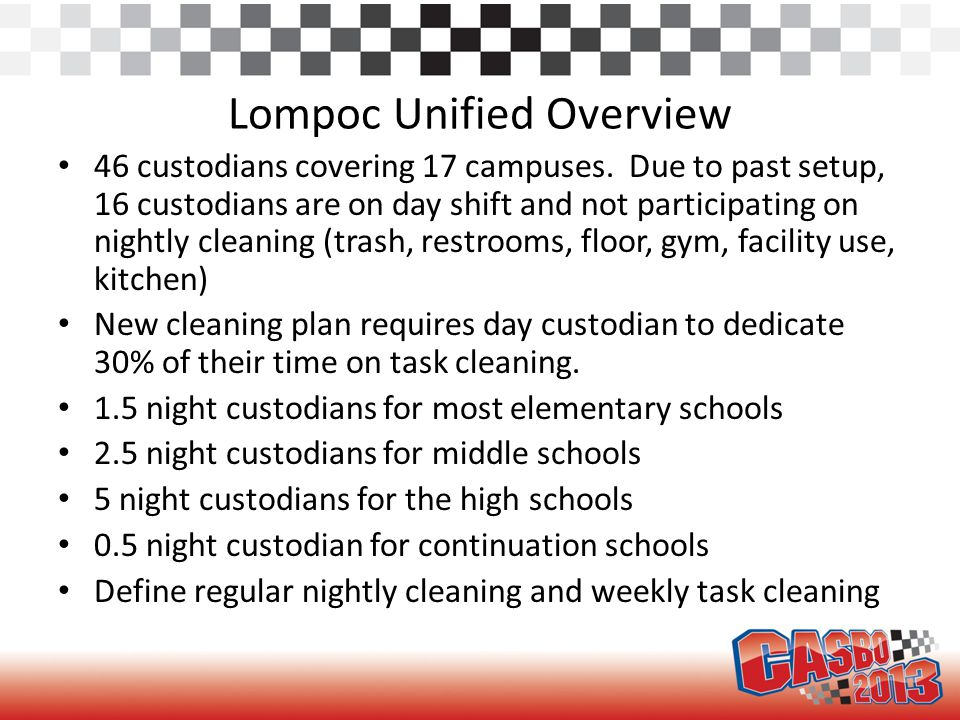 Proposed plan (Lompoc Unified)