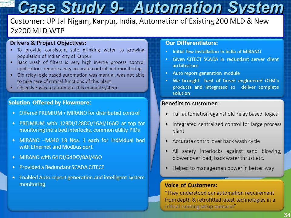 Case Study 9- Automation System