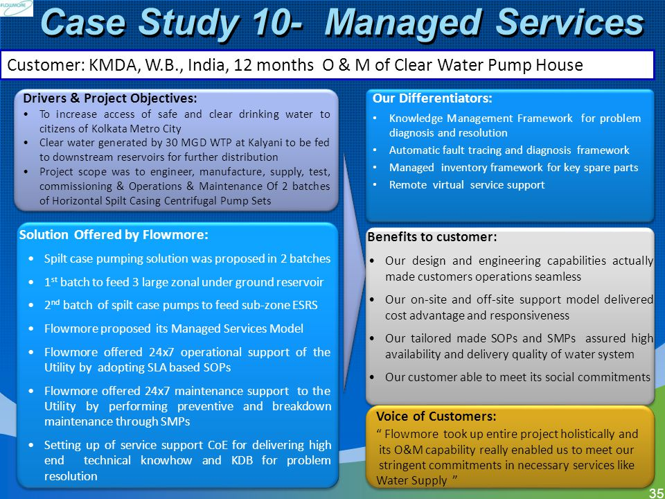 Case Study 10- Managed Services