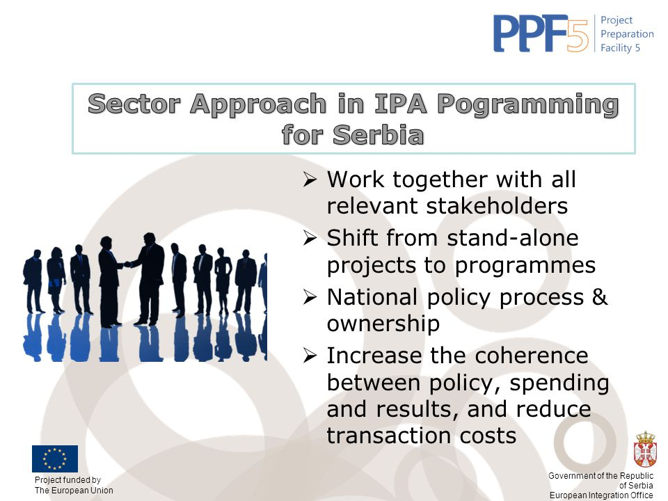 Sector Approach in IPA Pogramming for Serbia