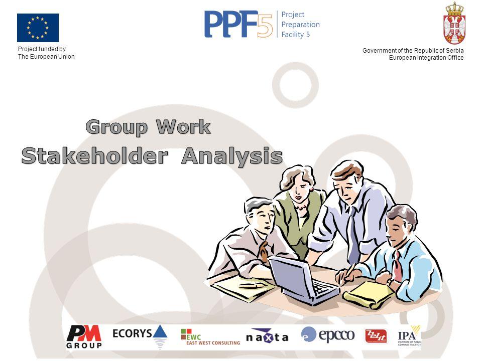 Group Work Stakeholder Analysis