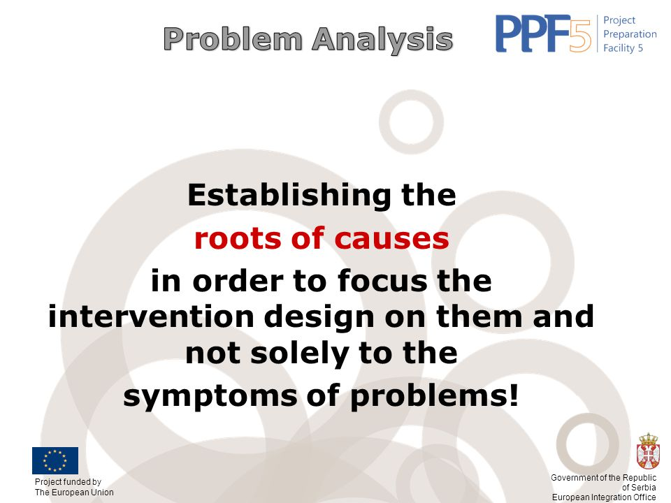 Establishing the roots of causes