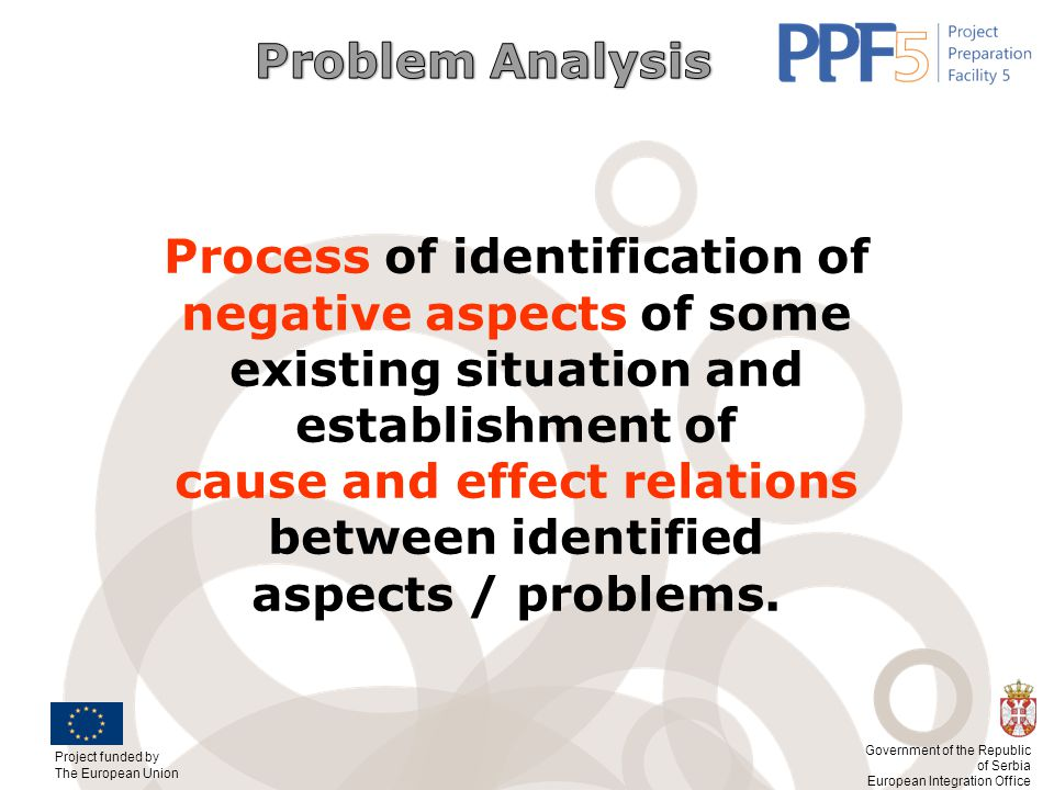 cause and effect relations between identified