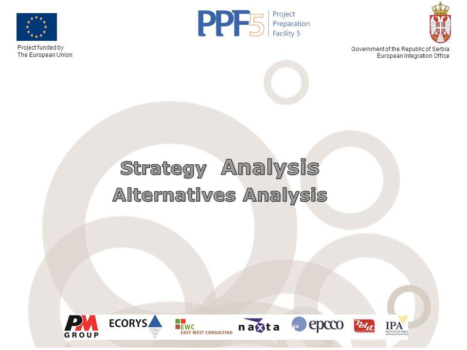 Strategy Analysis Alternatives Analysis