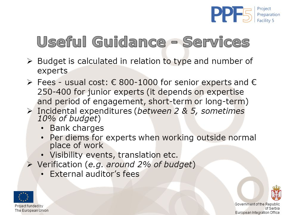 Useful Guidance - Services