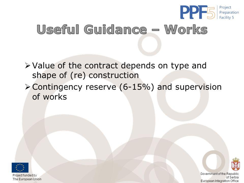 Useful Guidance – Works