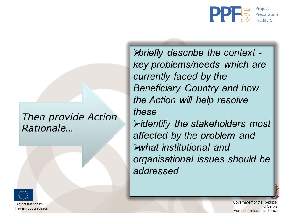 what institutional and organisational issues should be addressed