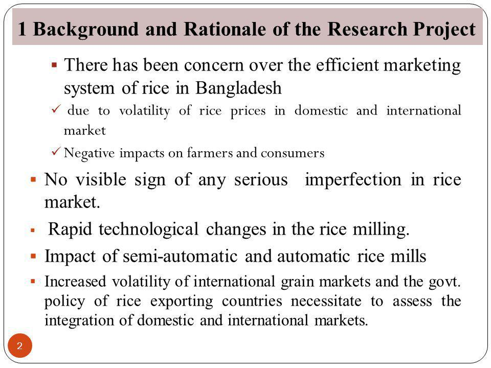 1 Background and Rationale of the Research Project