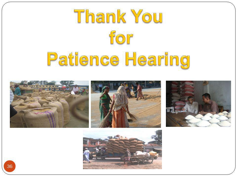 Thank You for Patience Hearing