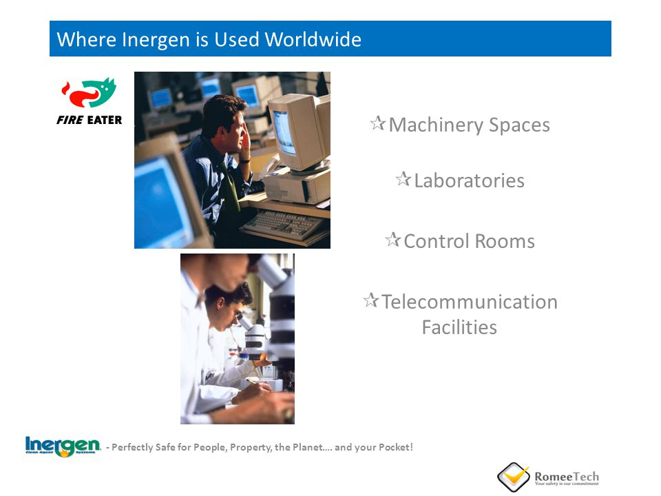 Where Inergen is Used Worldwide