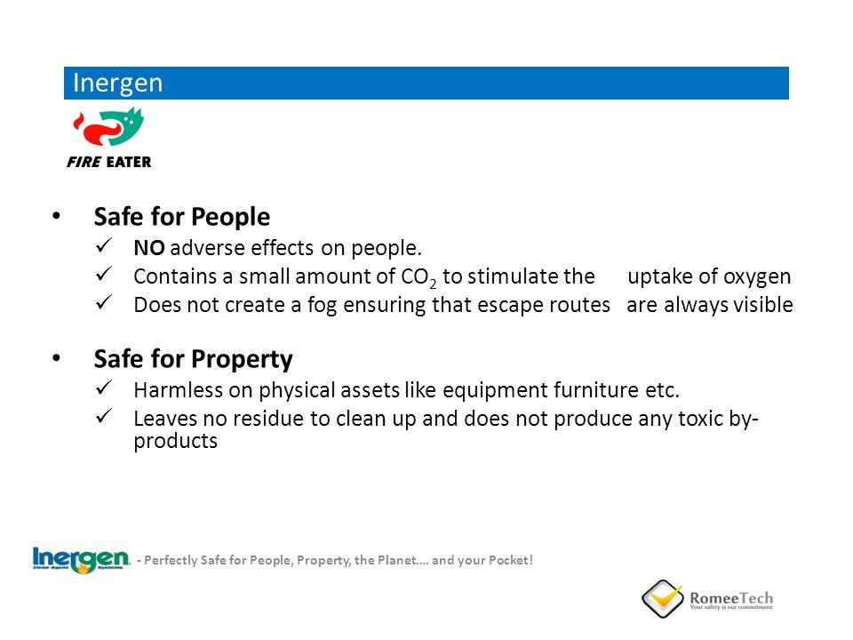 Inergen Safe for People Safe for Property