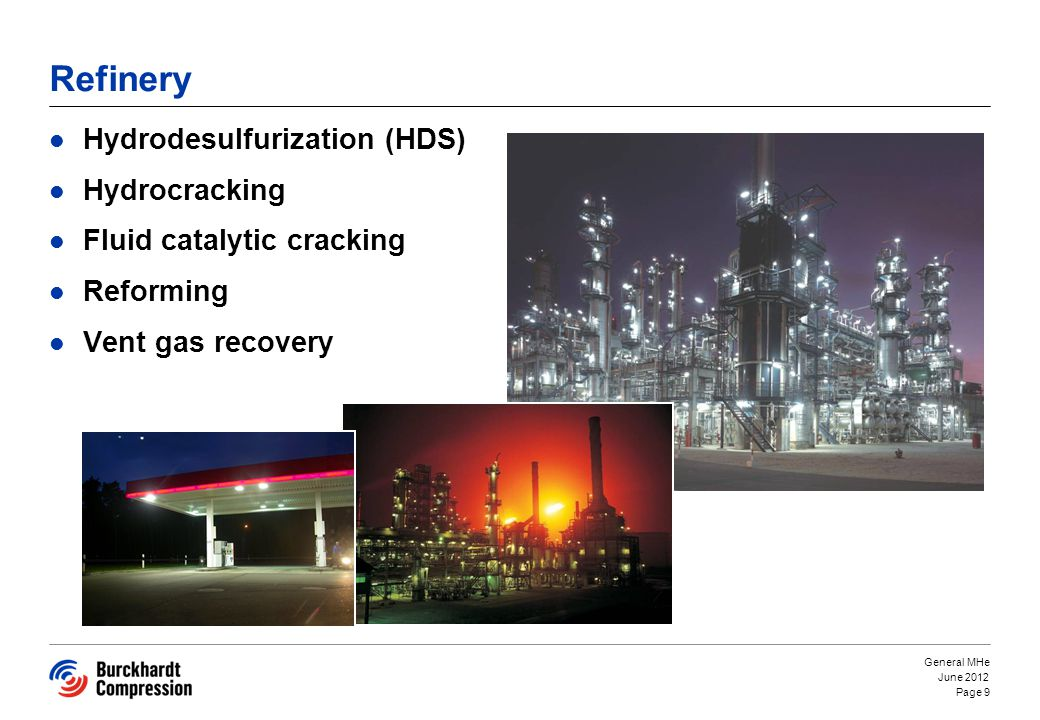 Refinery Hydrodesulfurization (HDS) Hydrocracking