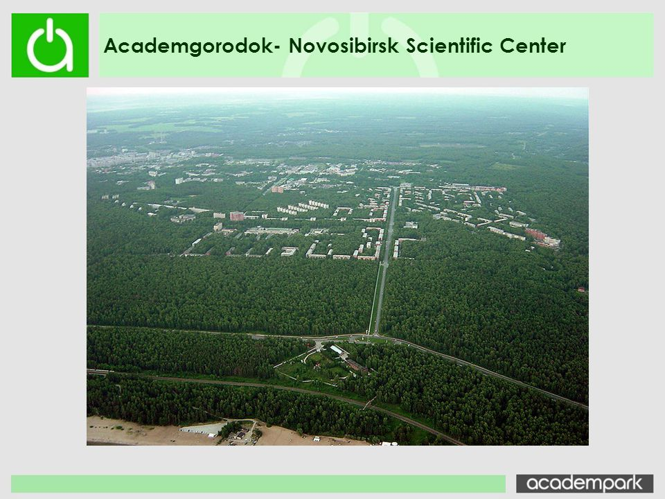 Academgorodok- Novosibirsk Scientific Center