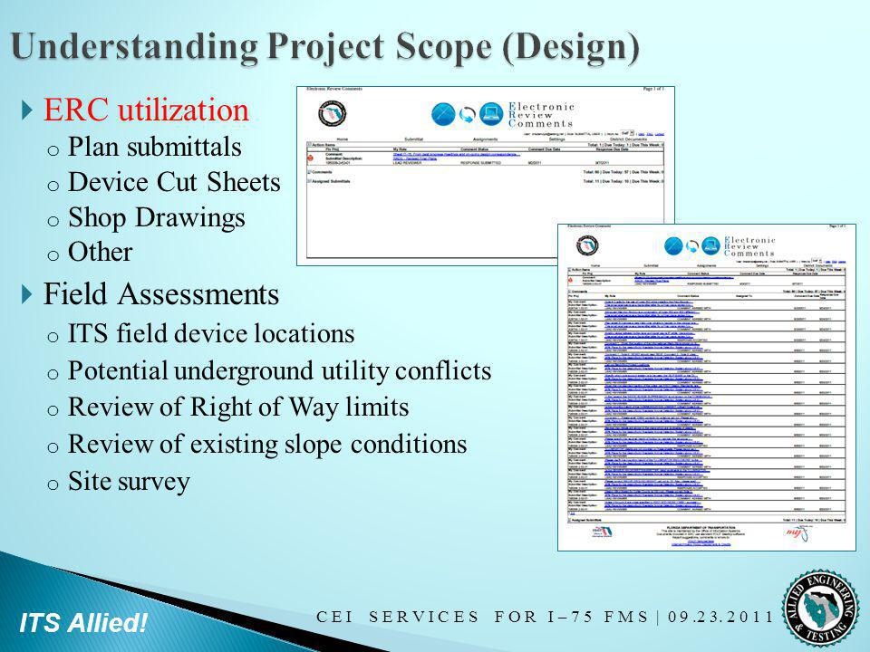 Understanding Project Scope (Design)