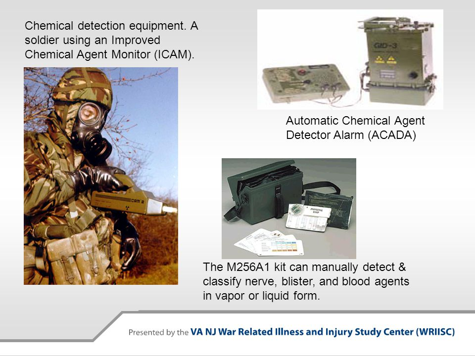 Chemical detection equipment