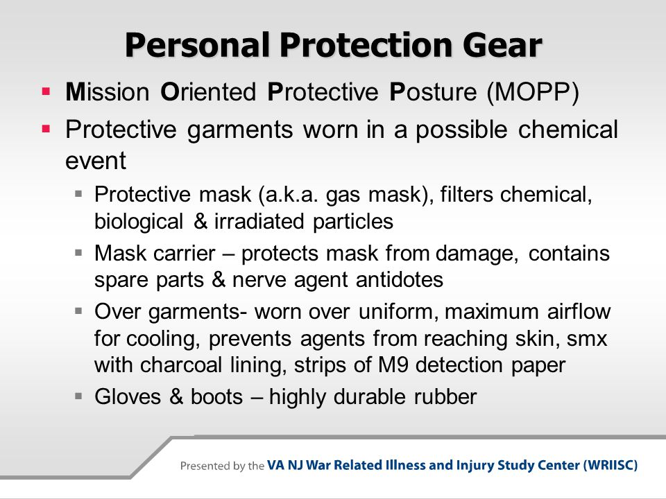 Personal Protection Gear