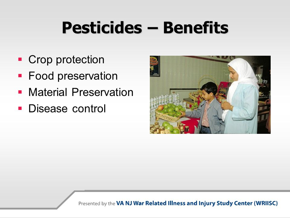 Pesticides – Benefits Crop protection Food preservation