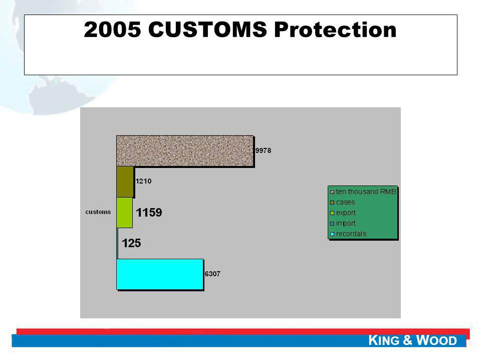 2005 CUSTOMS Protection