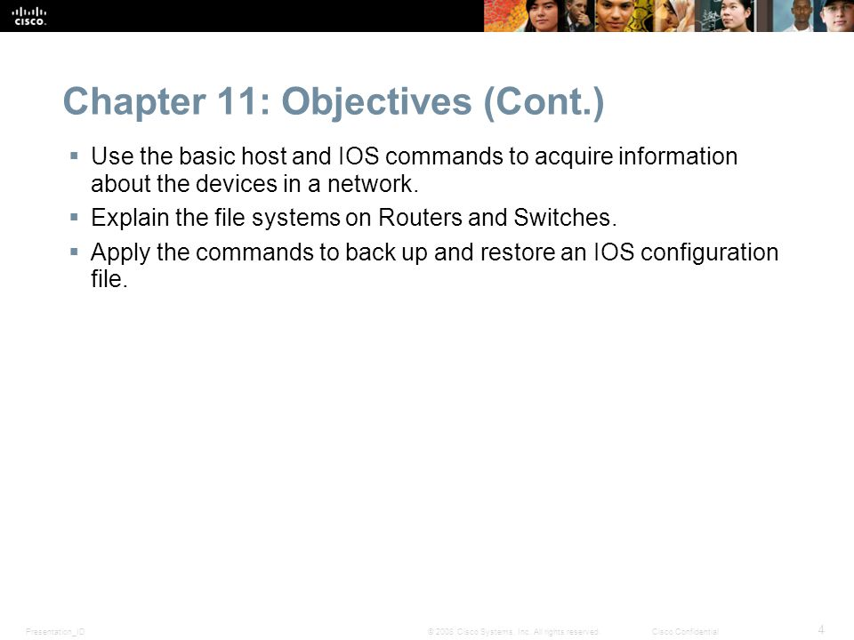 Chapter 11: Objectives (Cont.)
